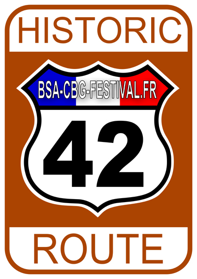 ROUTE 42 - STICKER - OK Small
